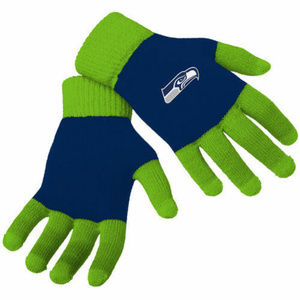 Other - Seattle Seahawks Knit Gloves with Texting Tips NFL